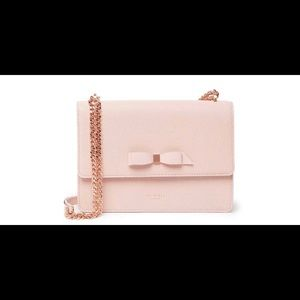 Ted Baker London Joanna Bow LeatherChain Crossbody